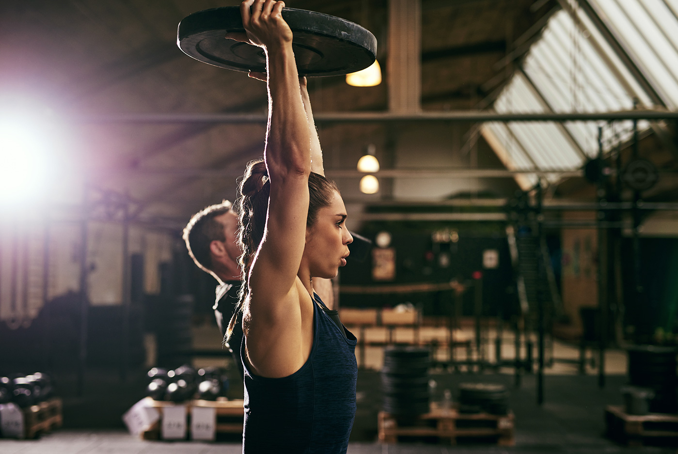 What are the components of an effective weight training program?