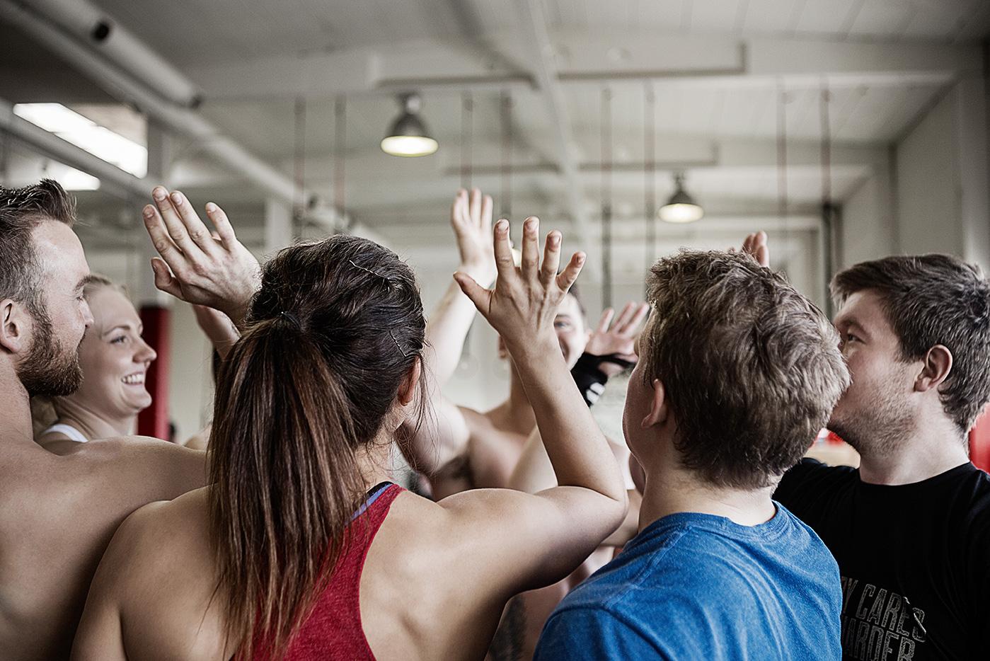 CrossFit training benefits