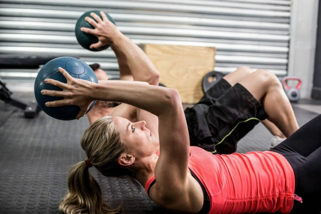 weight loss with crossfit